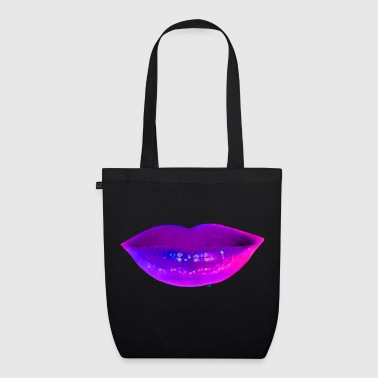Blue lips - EarthPositive Tote Bag