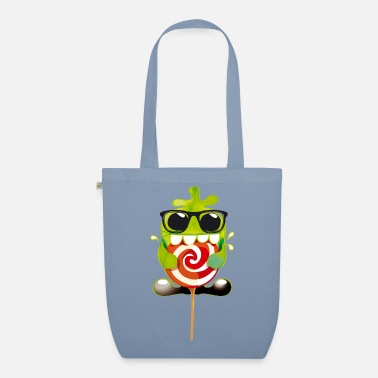 Collection For Kids Lolling monster - Organic Tote Bag