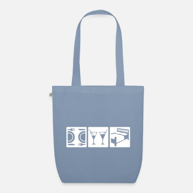Dinner perfect date - Organic Tote Bag