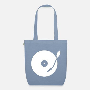 Record turntable - Organic Tote Bag