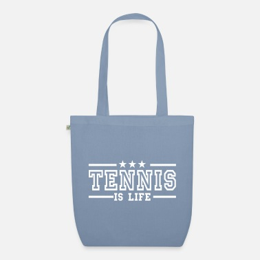 Advantage tennis is life deluxe - Luomu-kangaskassi