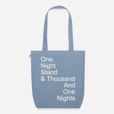 Lit one night stand - Sac en tissu bio