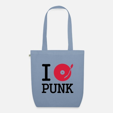 Dj I dj / play / listen to punk - Organic Tote Bag