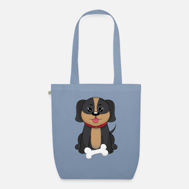 Playful Dogs Sweet playful dog - Organic Tote Bag
