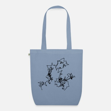 Motion Brownian Motion - Organic Tote Bag