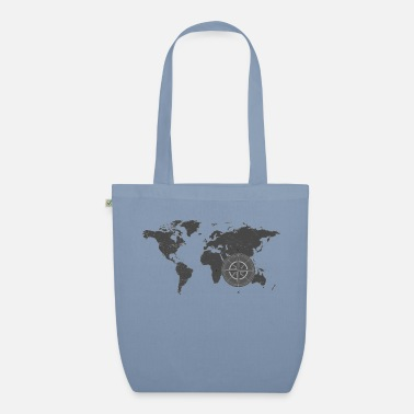 Map with compass 2 - Organic Tote Bag