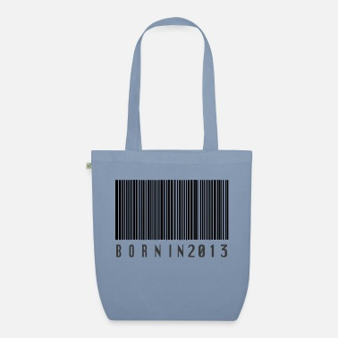 Born In Born in 2013 - Organic Tote Bag