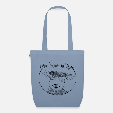 The Future is Vegan - Organic Tote Bag