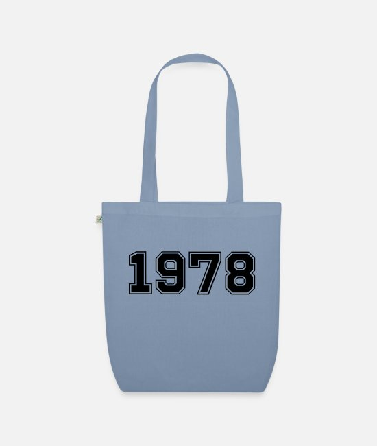 Anno Bags & Backpacks - 1978 - Organic Tote Bag steel blue