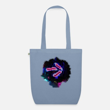 Jumpstyle discoball-NOUS VOULONS RAVE - Sac en tissu bio
