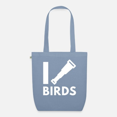 Bird Birdwatching - Bird Watching - Birding - Organic Tote Bag