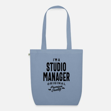 Carrière Studio Manager Gift Funny Job Titel Beroep - Bio stoffentas