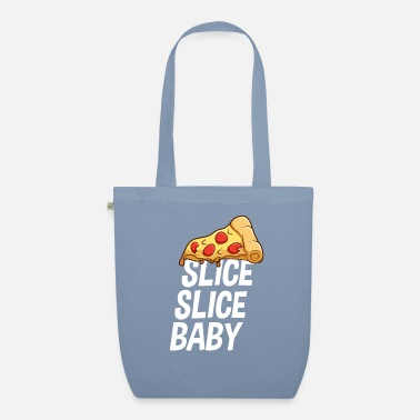 Slice slice baby pizza pizza piece gift - Organic Tote Bag