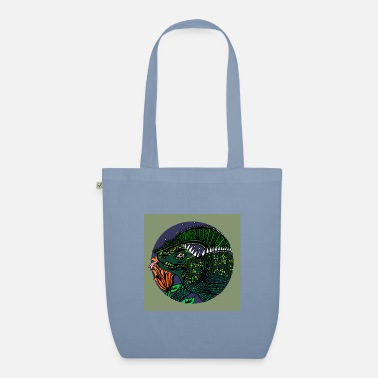 Felicity Parish - Lizzie the Lizard - Organic Tote Bag