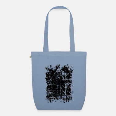 Scratched area (black) - Organic Tote Bag