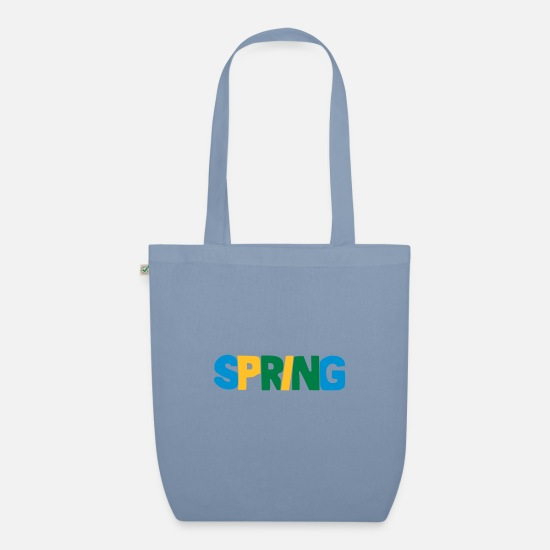 Spring Bags & Backpacks - spring - Organic Tote Bag steel blue