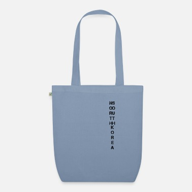 Korea North Korea South Korea Korea - Organic Tote Bag