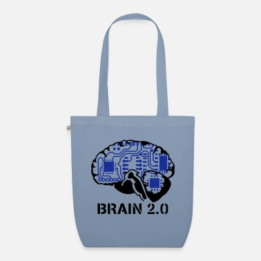 Geek brain 2.0 - Organic Tote Bag