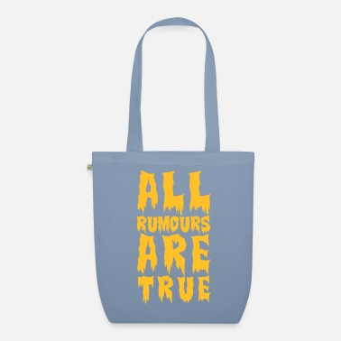 Man all rumours are true - Organic Tote Bag