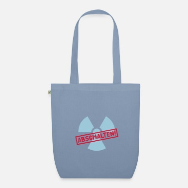 Castor Transport Nuclear power shutdown - Organic Tote Bag