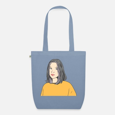 Young Internet e-girl | Woman girl | Gift idea - Organic Tote Bag