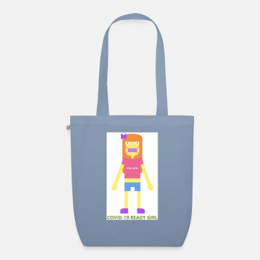 Girl COVID-19 Ready Girl - Organic Tote Bag