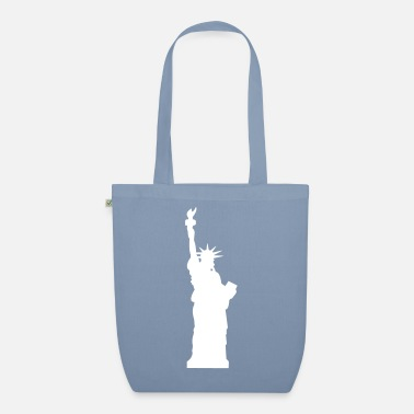 Holiday statue of liberty - Organic Tote Bag