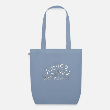 Christian Christian Design - Jubilee Now with Music Graphic. - Organic Tote Bag