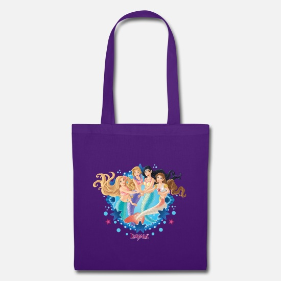 Mermaid Bags & Backpacks - Schleich bayala group picture mermaids - Tote Bag purple