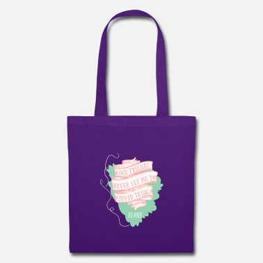 Grade Typography Stupid 4 F - Tote Bag