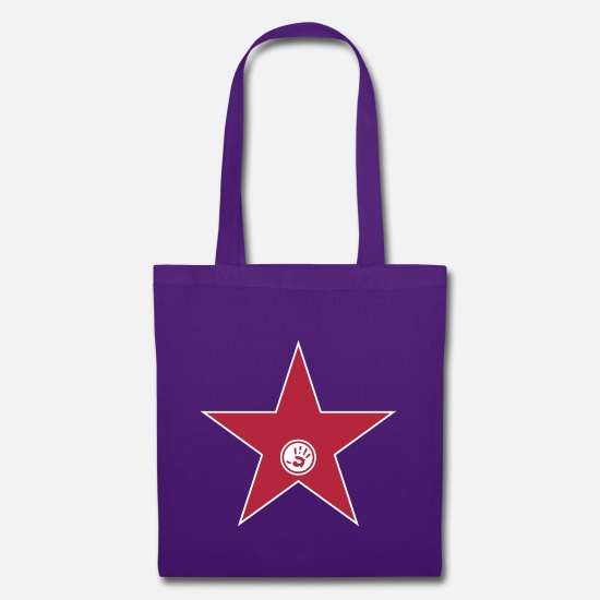 Cool Bags & Backpacks - walk of fame + your name - Tote Bag purple