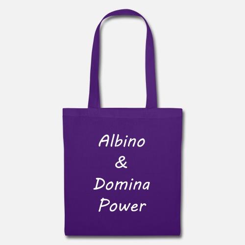 11c585c237 Vecteur blanc Albino et Domina Power Sac en tissu | Spreadshirt