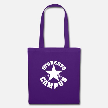 Uni Students on the Campus University Party white - Tote Bag