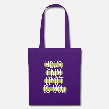 Conceited your only limit is you - Tote Bag