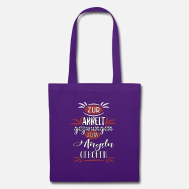 Angel born for fishing - Tote Bag