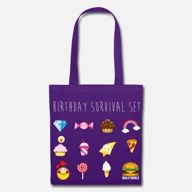 Birthday SmileyWorld Birthday Survival Set - Stoffbeutel