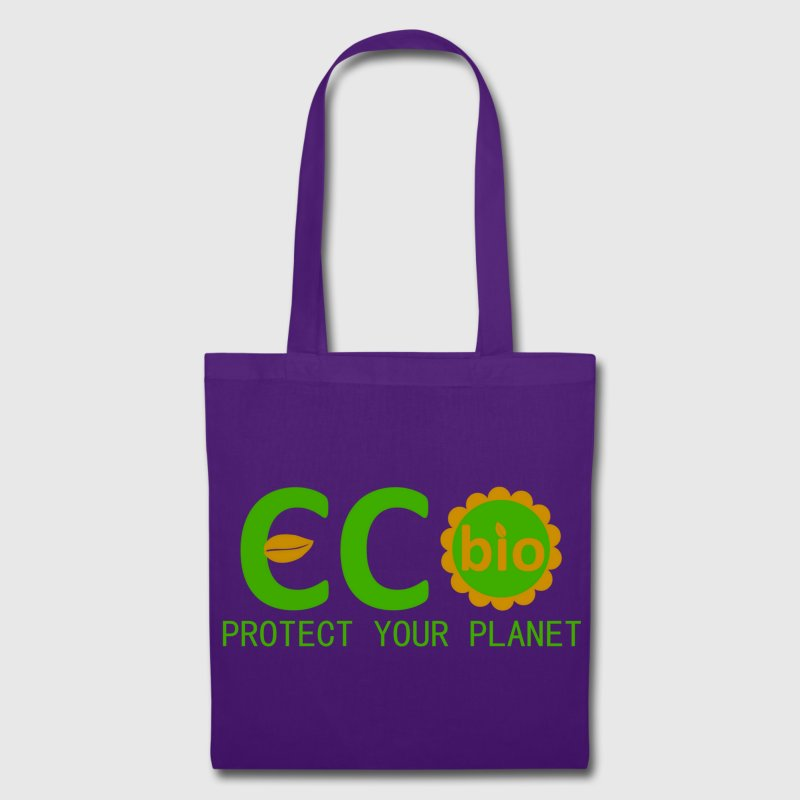 eco bio protect your planet - Tote Bag
