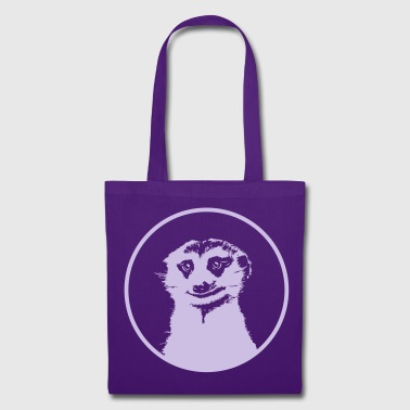 Meerkat large round diapositive - Tote Bag