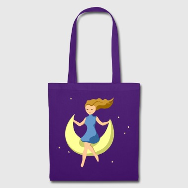 Dizzi on the moon - Tote Bag