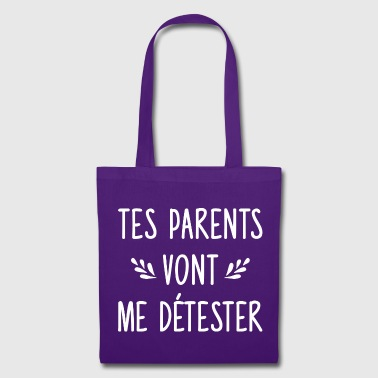 Couple - drague - Tes parents - Tote Bag