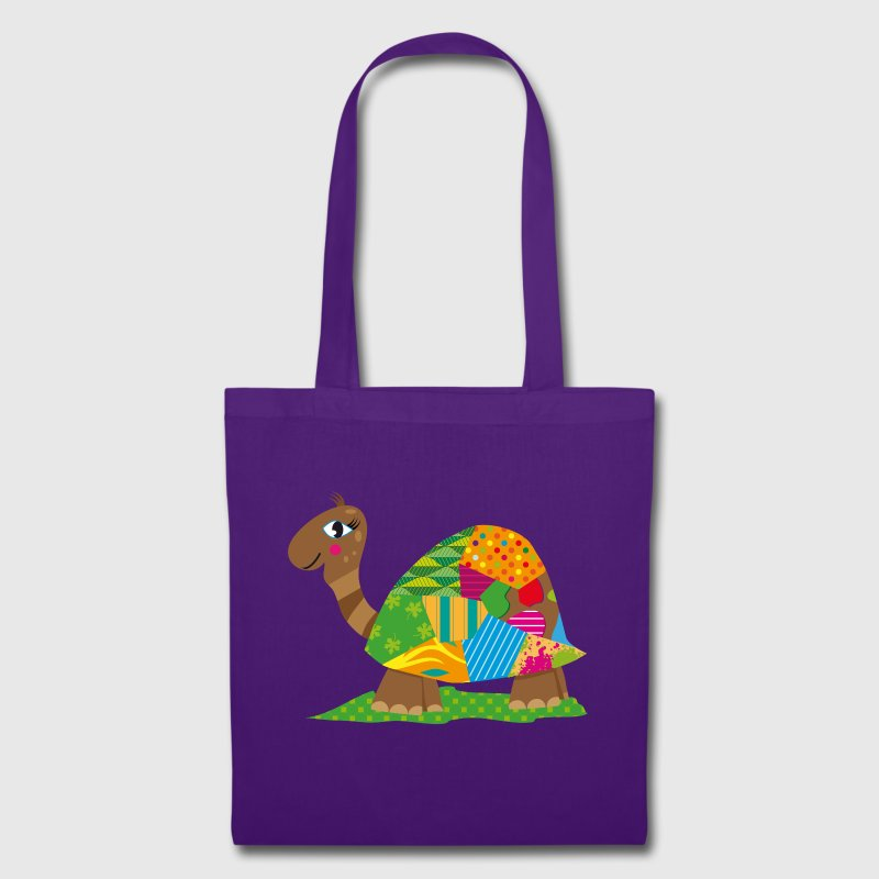 A patchwork turtle - Tote Bag