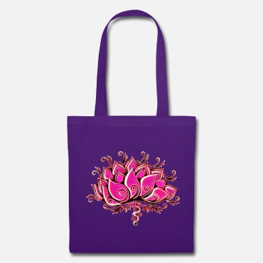 Buddhism Lotus, blossom, flower, yoga, OM, buddhism, spirit - Tote Bag