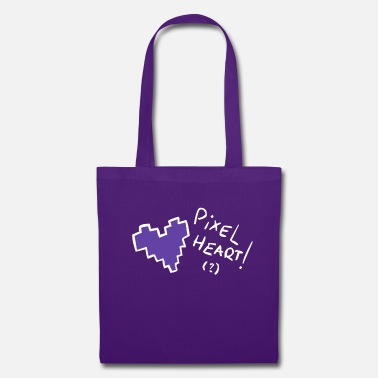 Pixel-heart Pixel heart - Tote Bag