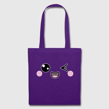 Clin d'oeil smiley - Tote Bag