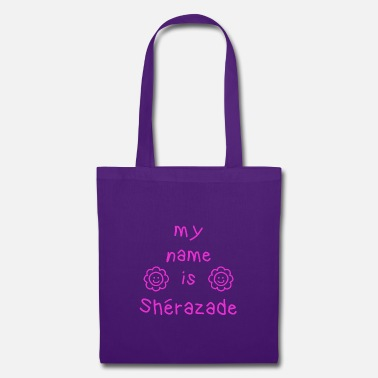 SHERAZADE MY NAME IS - Tote Bag
