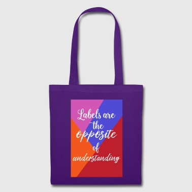 labels - Tote Bag