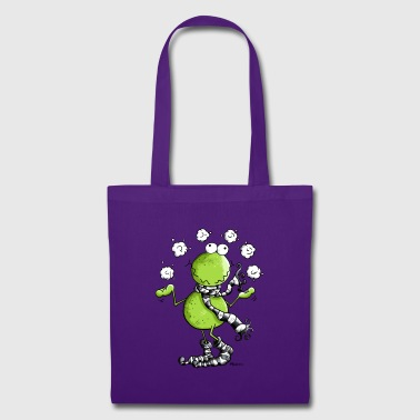Funny Winter Frog  - Tote Bag