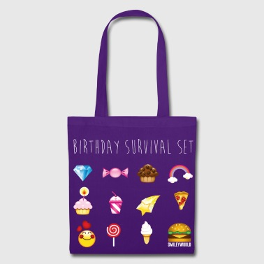 SmileyWorld Birthday Survival Set - Tas van stof
