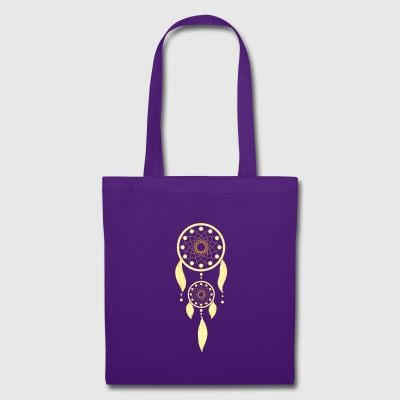 Golden dream catcher - Tote Bag