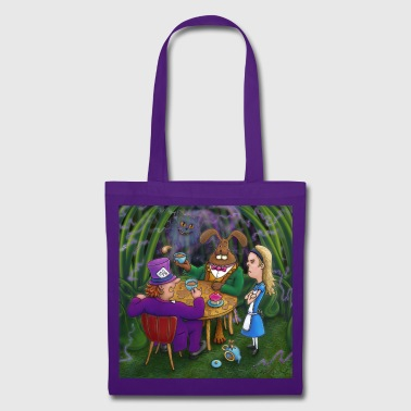 alice in wonderland tea pary - Tote Bag